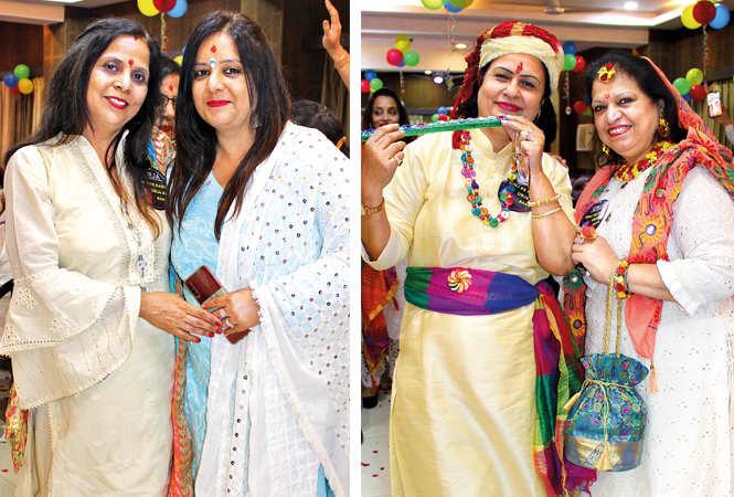 (L) Payal and Sangeeta (R) Poonam and Sunita (BCCL/ Arvind Kumar)