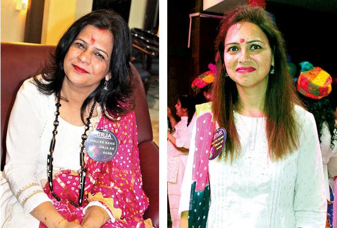 (L) Amrita (R) Bhavya (BCCL/ Arvind Kumar)