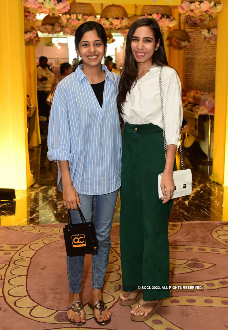 Shikha and Dithya Reddy host an exhibition