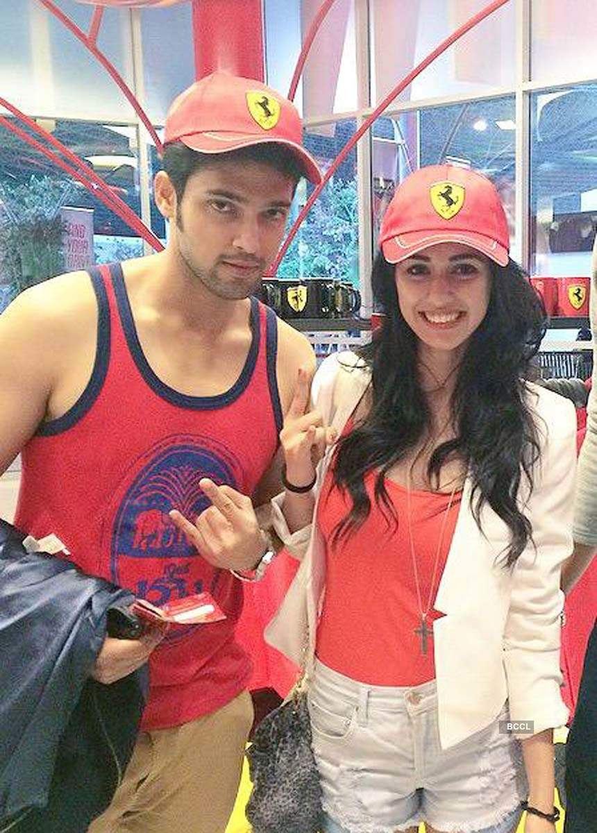 These pictures of Disha Patani with ex-boyfriend Parth Samthaan are going viral