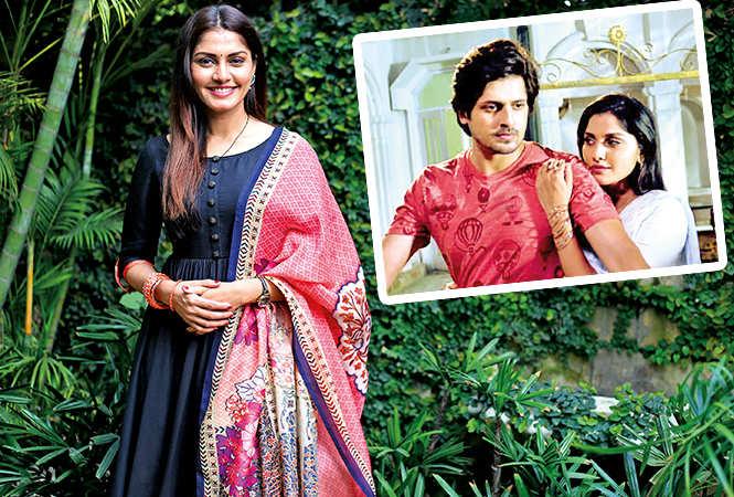 Sonali Nikam  and (inset) a still from Aadhe Adhoore (BCCL/ Aditya Yadav)