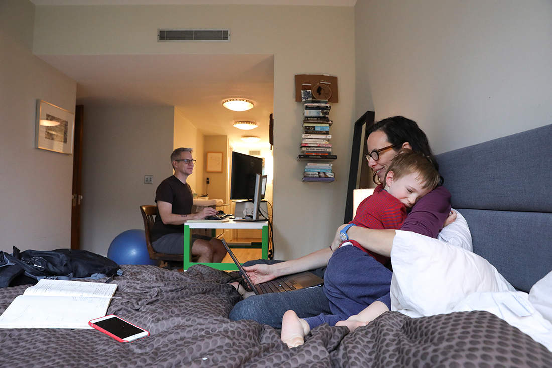 In Pictures: Life for New York City family at the Epicenter of American outbreak