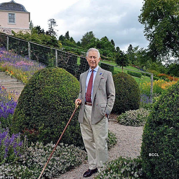 Candid pictures of Prince Charles, who is now out of self-isolation…