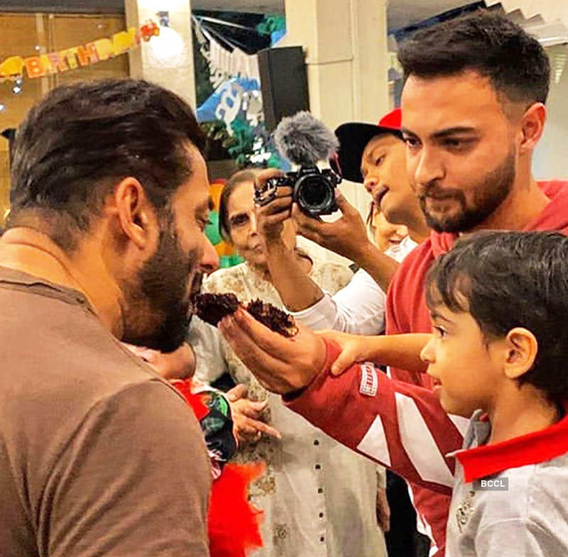 Inside pictures from Salman Khan's nephew Ahil's birthday party with family