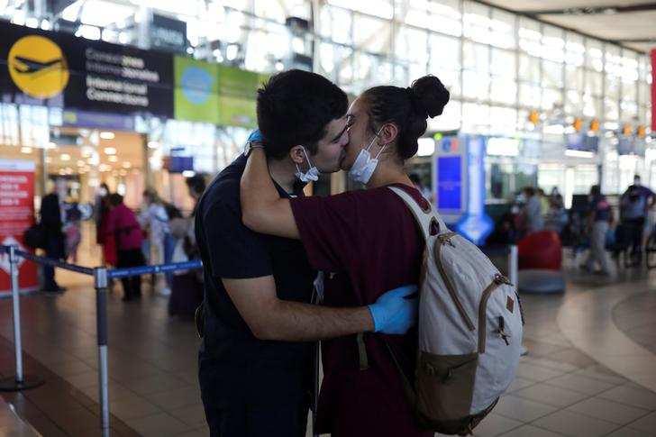 In pics: Love in the time of coronavirus