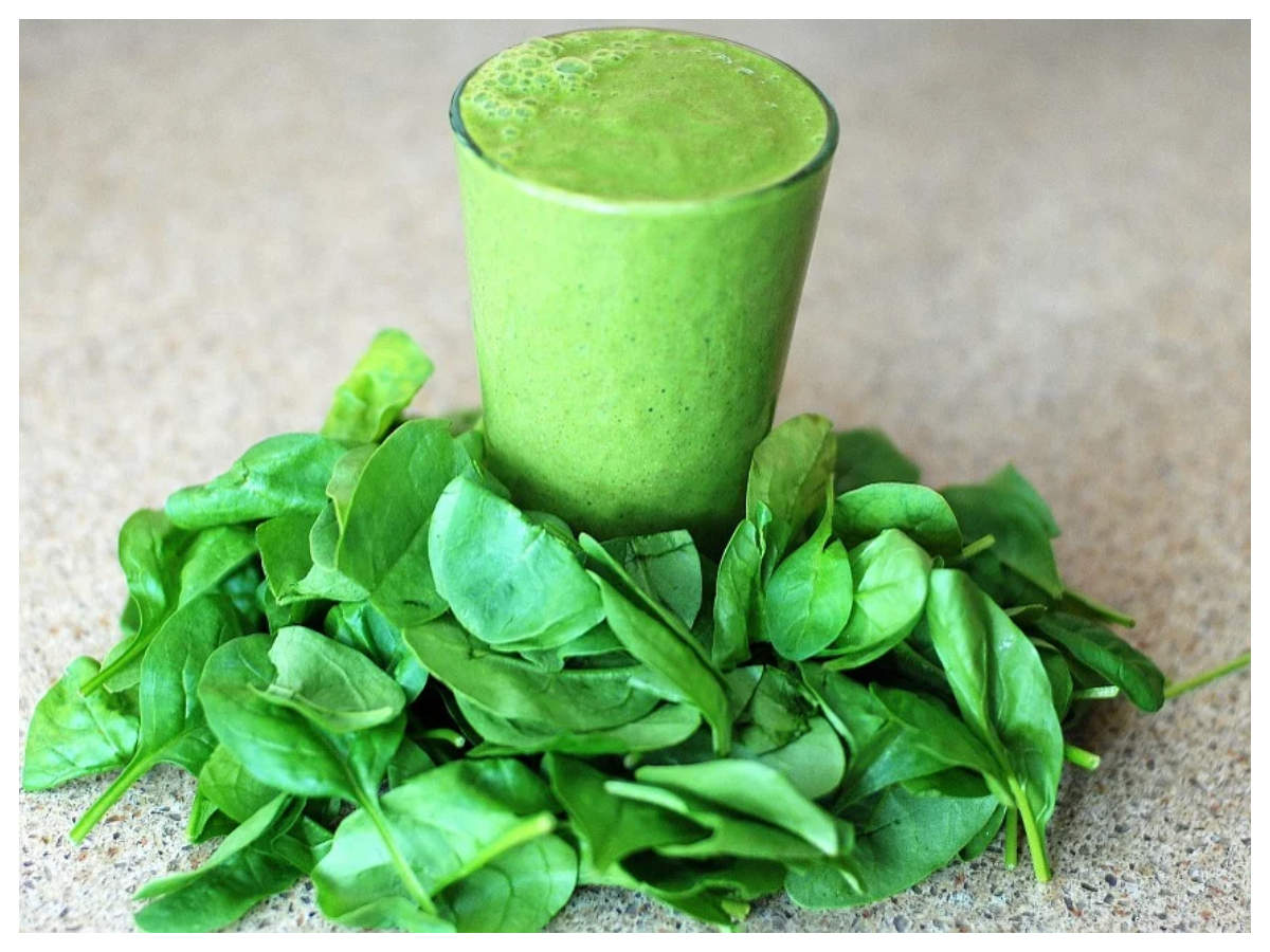 health benefits of spinach juice | how to make spinach juice