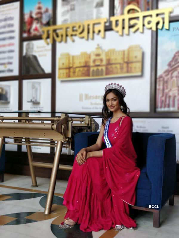 LIVA Miss Diva 2020 - Runner – Up Neha Jaiswal's Joyous Homecoming