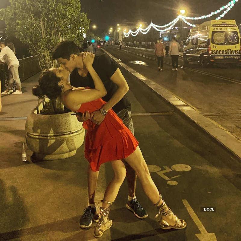 Romantic pictures of Silsila Badalte Rishton Ka actress Drashti Dhami and Neeraj Khemka