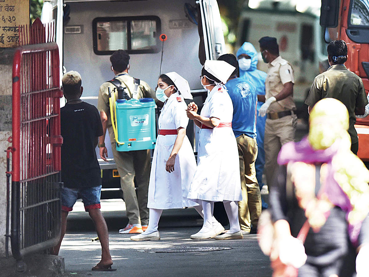 Five more Mumbai nurses test positive