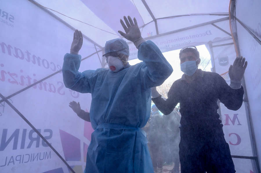 In pics: India fights deadly coronavirus