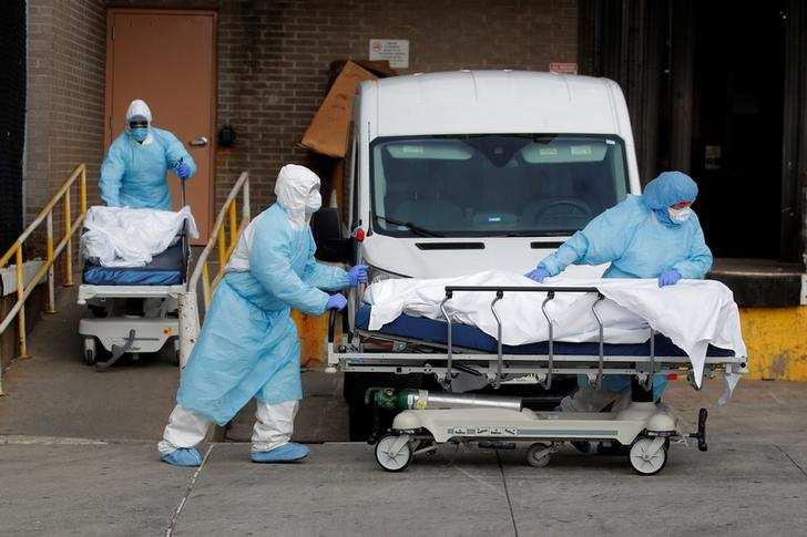 Saddening pictures from New York City, epicenter of US coronavirus outbreak