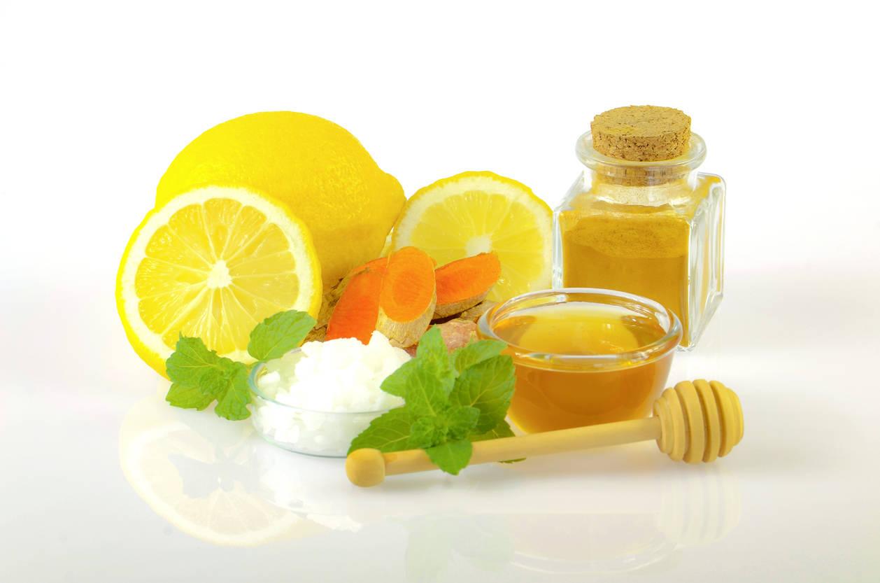 Lemon and honey pack