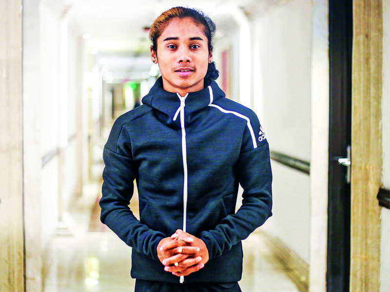 Hima Das lights diyas to show support in the battle against COVID-19