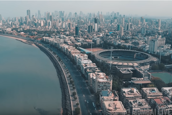 Mumbai like never before—aerial shot of the city during lockdown | Times of  India Travel