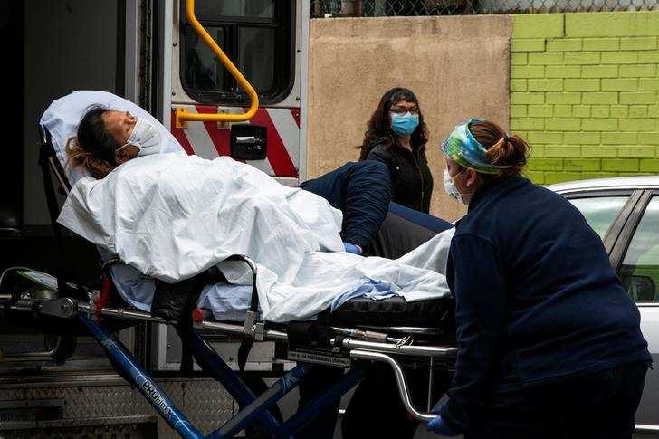 In pics: US coronavirus death toll crosses 16,000