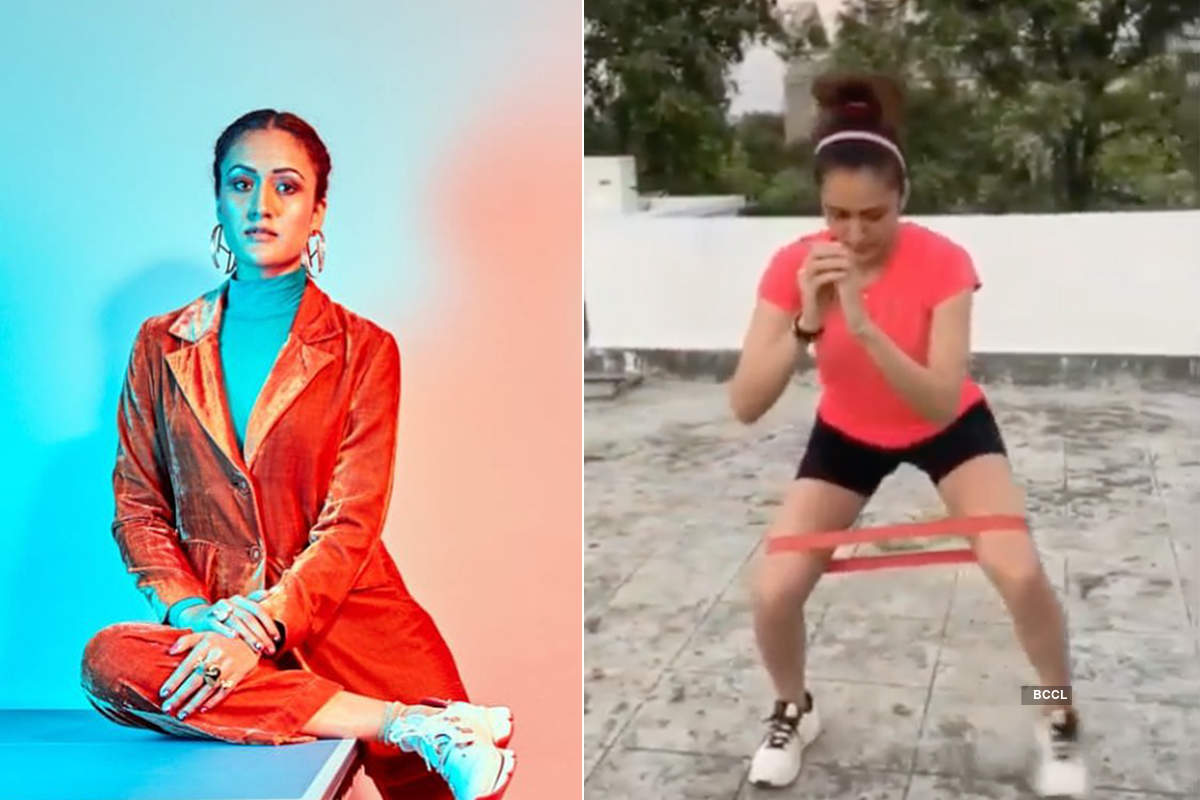 Table tennis star Manika Batra shares workout pictures to motivate fans to stay fit amid lockdown
