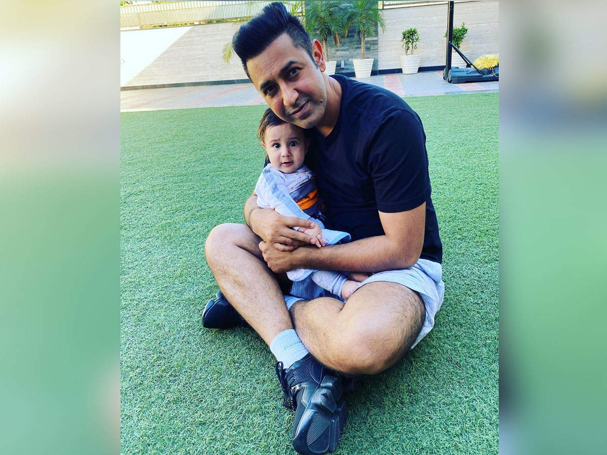 THIS picture of Gippy Grewal with his young son Gurbaaz Grewal is winning hearts
