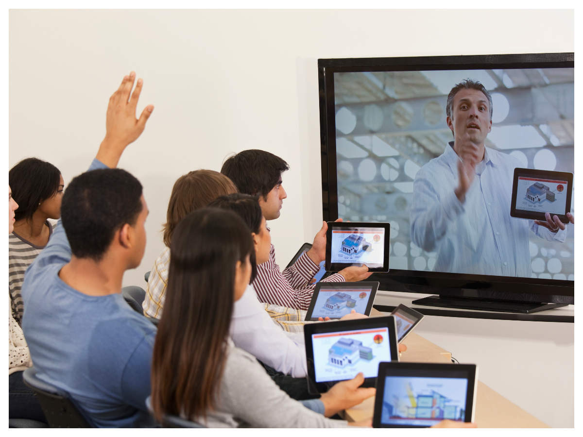 Institutes resorting to robotic Engaged Learning Online technology to conduct active remote classes