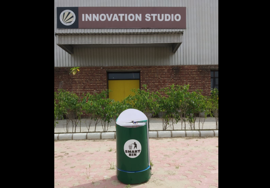 Researchers develop 'Ally' a smart dustbin for contactless waste collection and disposal at hospitals