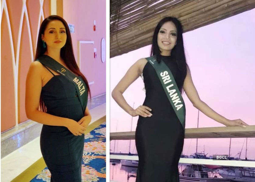 Miss Earth beauties in the frontline to fight coronavirus