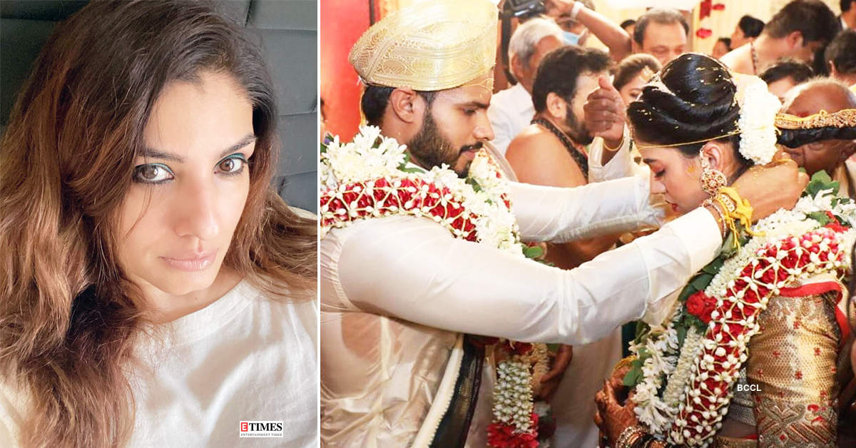 Raveena Tandon lashes out at former Karnataka CM's son Nikhil Kumaraswamy for getting married amid coronavirus lockdown