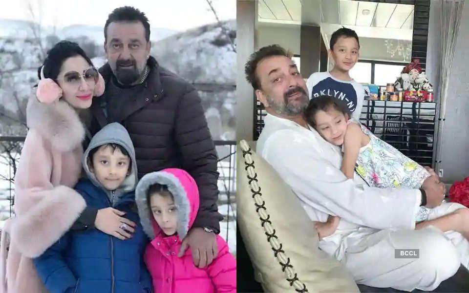 Coronavirus lockdown: Sanjay Dutt's wife Maanayata and kids stuck in Dubai