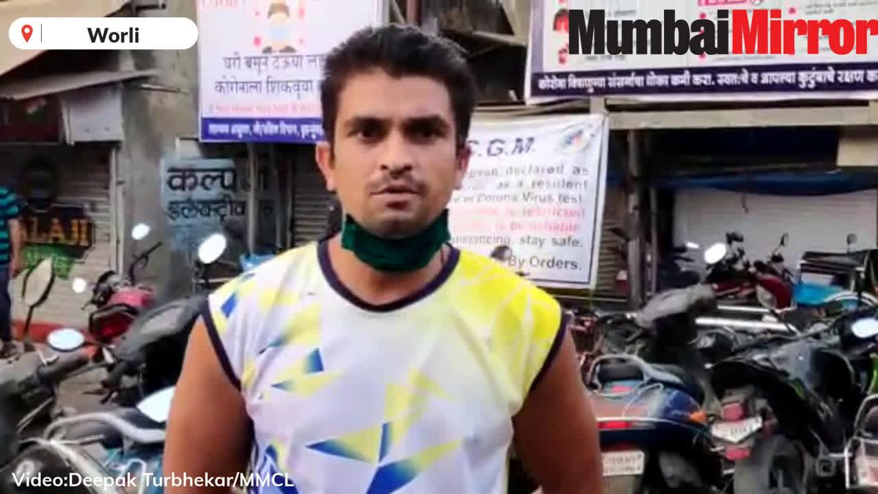 Worli: Despite Covid-19 bringing the city to a halt, the spirit of Mumbaikars like these keep the wheels moving