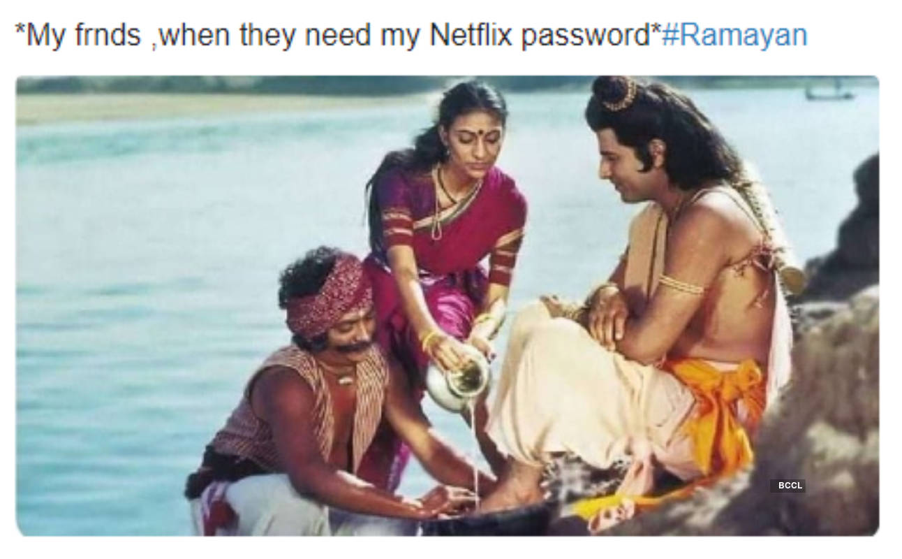 With Ramayan breaking TRP records, take a look at these hilarious memes on Ramayan that will surely make you go on a laugh riot!
