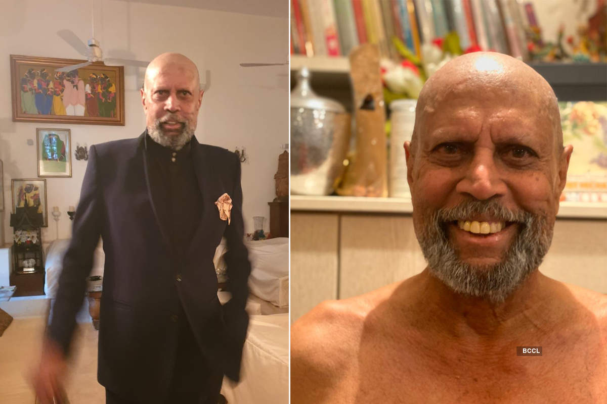 These pictures of Kapil Dev's new quarantine look are winning the internet
