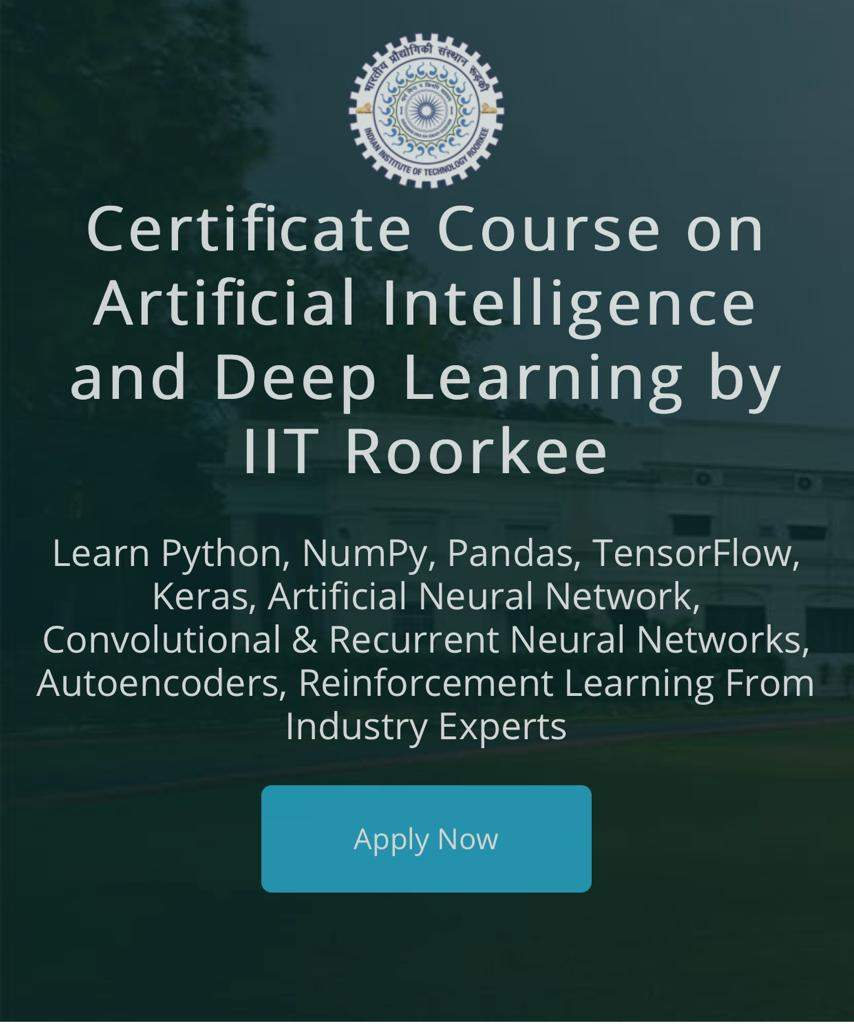 New Deep learning course at IIT Roorkee aims to upskill students to tackle global slowdown