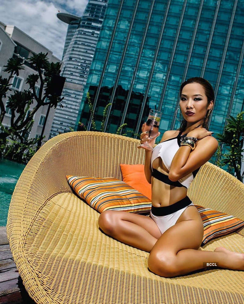 Miss Global Vietnam 2018 Kiko Chan stuck in US amidst coronavirus pandemic