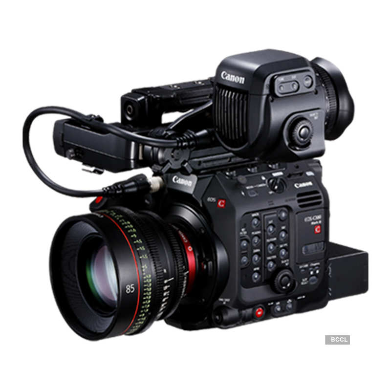 Canon launches EOS C300 Mark III in India