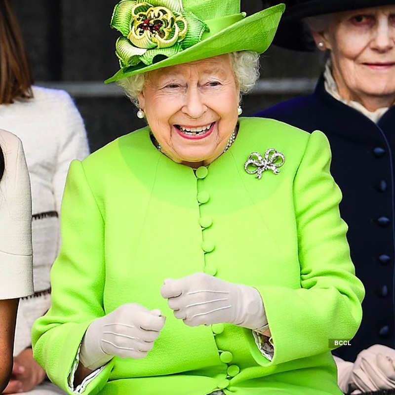 Candid pictures of Britain's Queen Elizabeth as she turns 94!