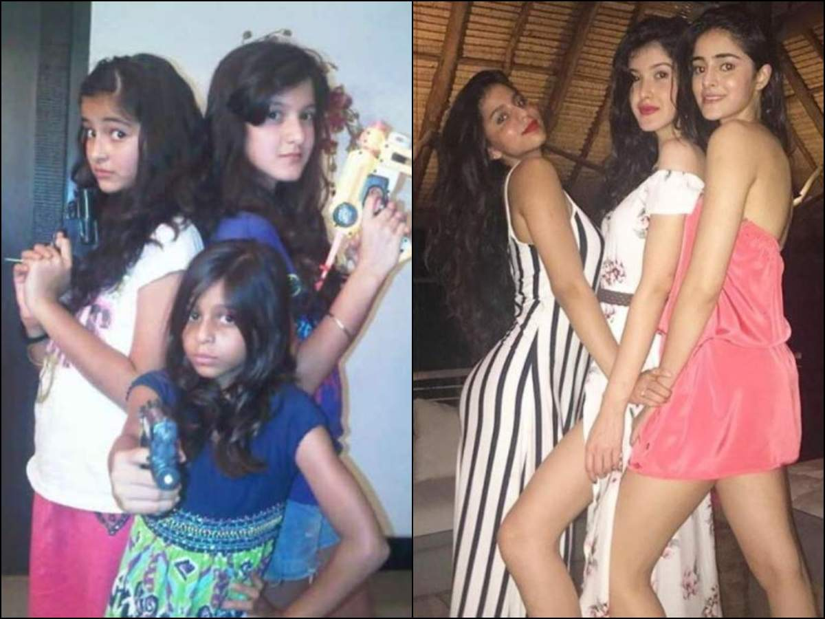 SIX pictures of Suhana Khan, Ananya Panday and Shanaya Kapoor that speak  volumes about their adorable friendship | The Times of India