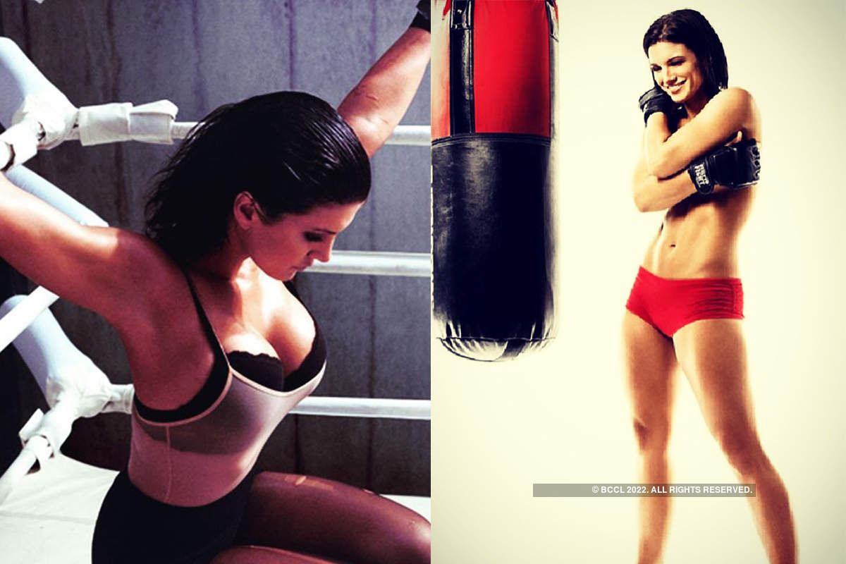 MAA fighter and Hollywood actress Gina Carano's stunning pictures