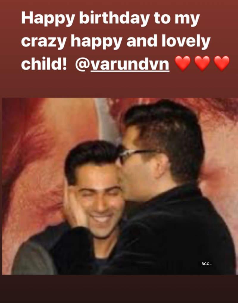 Varun Dhawan celebrates birthday with GF Natasha Dalal