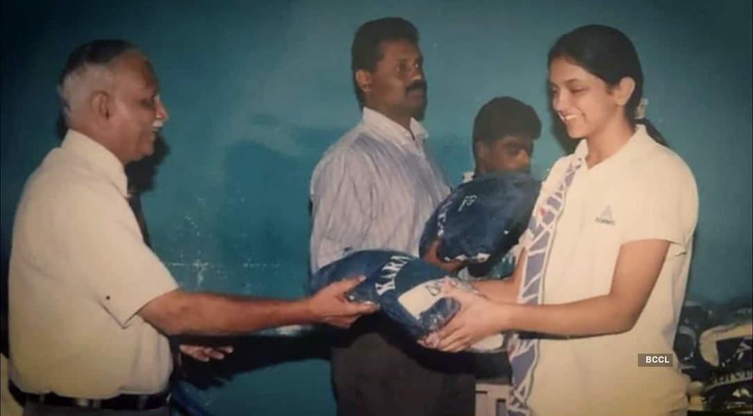 Celebs in their school uniform