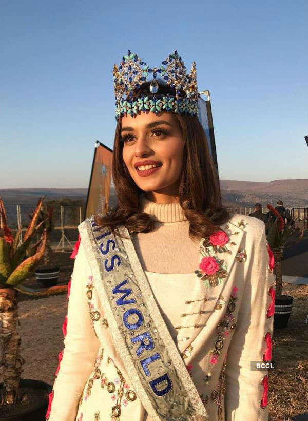 """I urge for distributing sanitary pads along with daily rations,"" appeals Manushi Chhillar"