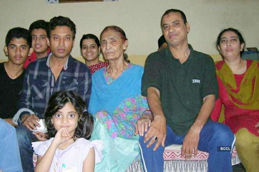 Bollywood actor Irrfan Khan's mother Saeeda Begum dies at 95