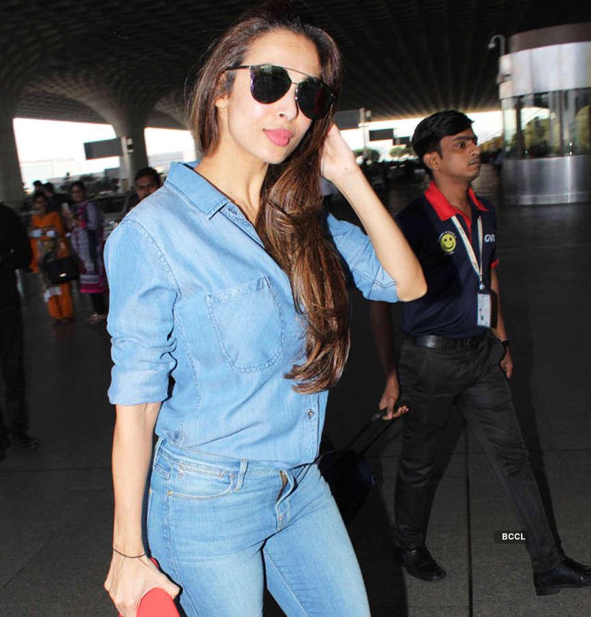 Malaika Arora's offline fashion panache