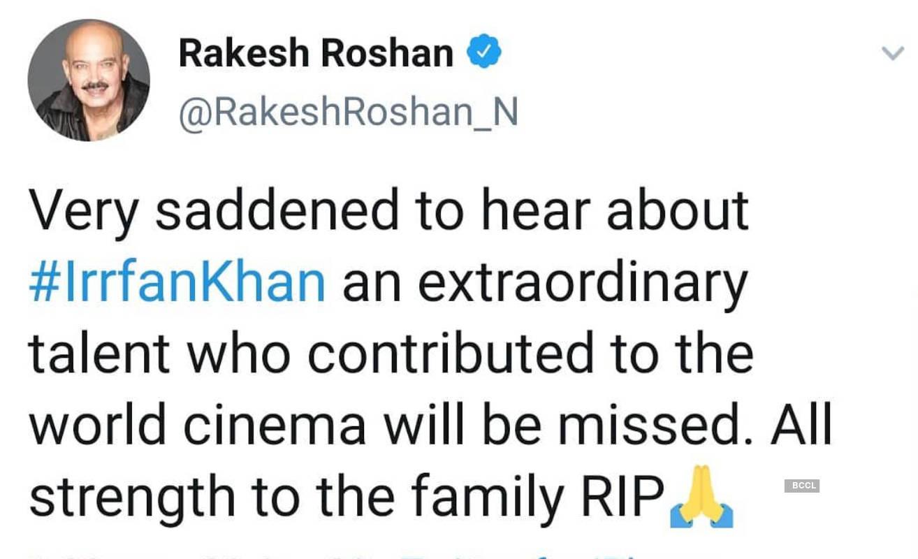 From PM Narendra Modi, Virat Kohli to Big B, tributes pour in for legendary actor Irrfan Khan