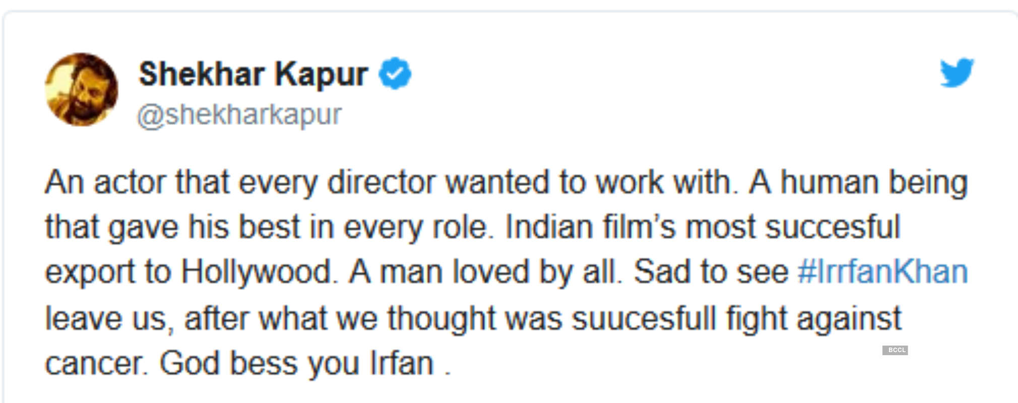 From PM Narendra Modi, Virat Kohli to Big B, tributes pour in for legendary actor Irrfan Khan