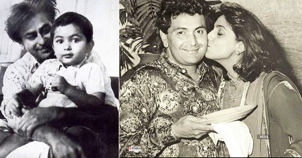 Rare and unseen pictures of Bollywood actor Rishi Kapoor