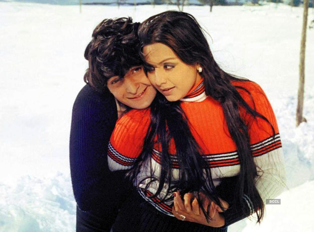 Unmissable pictures of Bollywood's heartthrob Rishi Kapoor with his leading ladies