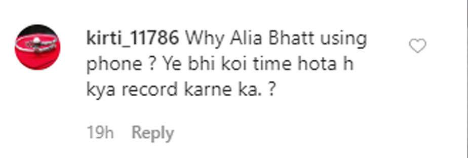 Alia Bhatt at Rishi Kapoor cremation