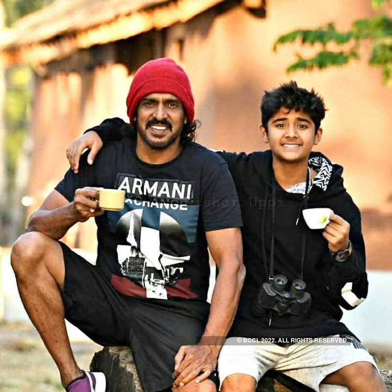 Kannada film and television actors and their kids