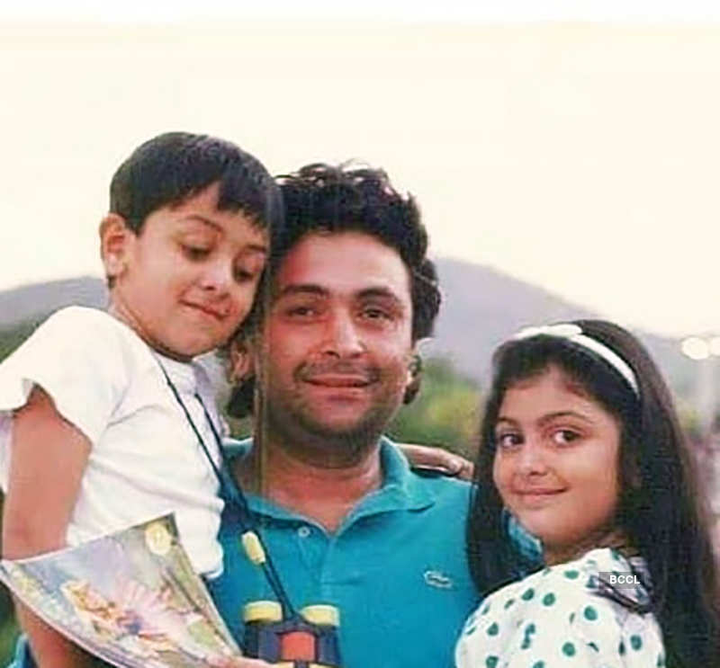 Rishi Kapoor's throwback pictures