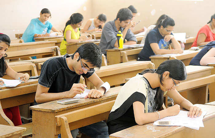 Universities may promote students based on their internal assessment, previous semester marks