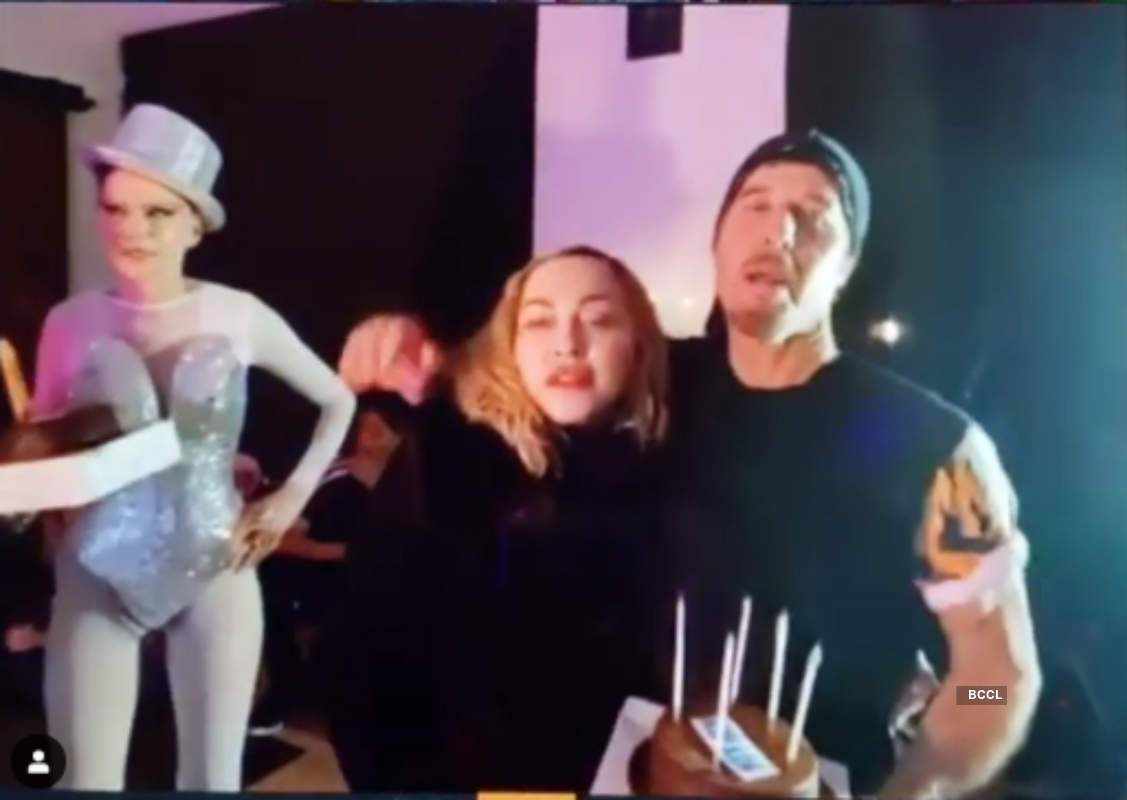 Madonna parties hard three days after she tests positive for Covid-19