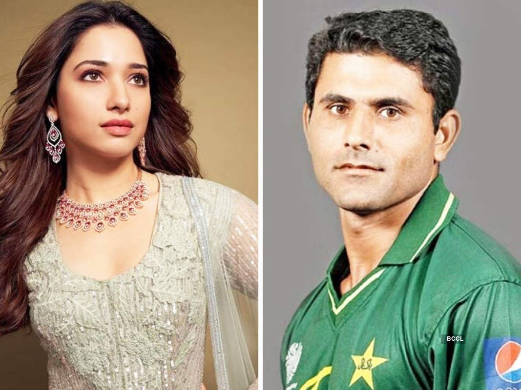 Pictures of Tamannaah Bhatia with Pak cricketer Abdul Razzaq spark wedding rumours